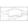 Serie Pastiglie Freno Anteriori Galfer Ford Fiesta Ka Mazda 121