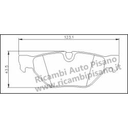 Serie Freni Posteriori BMW Serie 1 120D / 130i / 130D - Serie 3 320D / 325I / XI