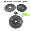 Kit Volano Doppia Massa + Frizione Completa Valeo Alfa Romeo 156 JTD