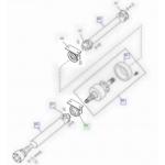 Supporto Albero Trasmissione Land Rover Freelander completo di cuscinetto